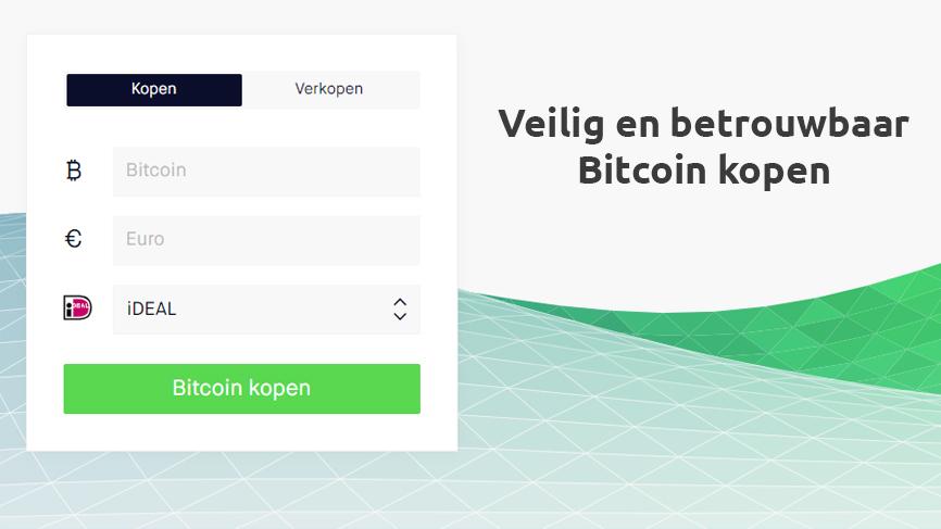 veilig en betrouwbaar bitcoin kopen
